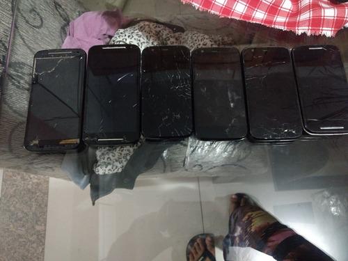 lotes smartphone moto g ( sucata retirada de peças)