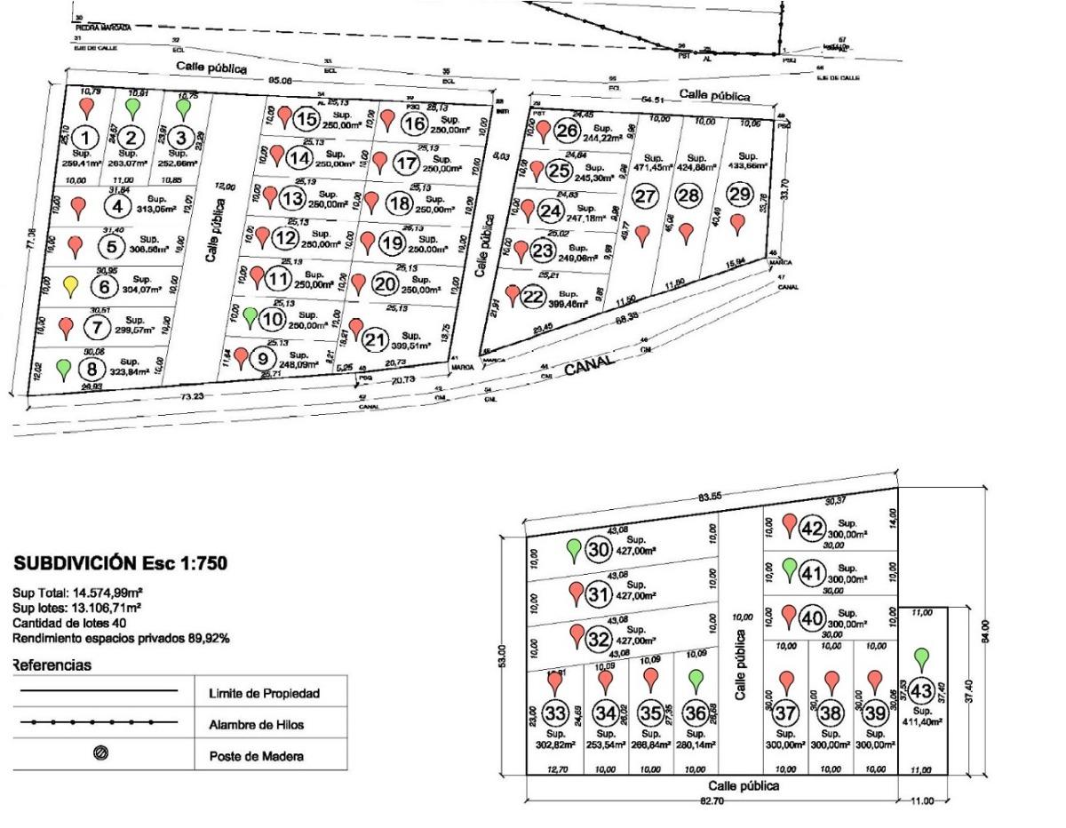lotes terrazas pintadas barrio cerrado s/anticipo $ 2999 mes