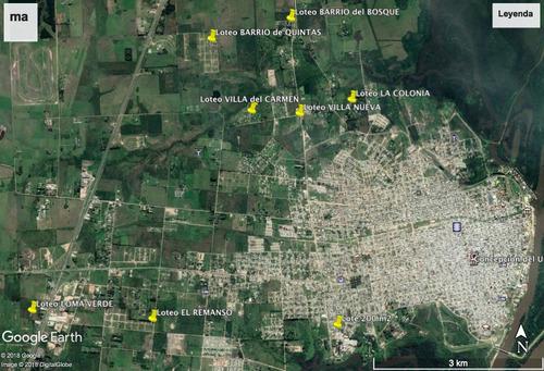 lotes - terreno - chacras - entre rios -  03442 15507070