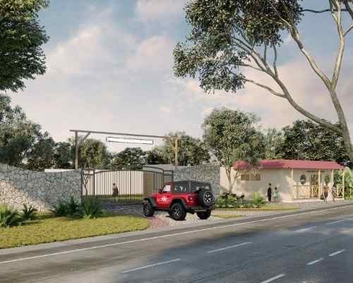 lotes urbanizados carretera merida - chicxulub puerto.