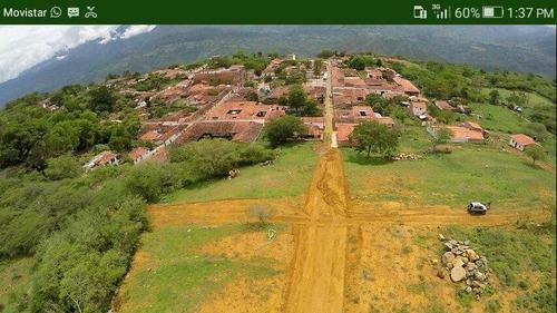 lotes urbanos en guane barichara, cuna de santamder.