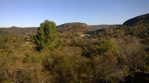 lotes villa cerro pelado en villa amancay, calamuchita.