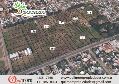 lotes vivienda en monteverde figueroa - claypole zona sur