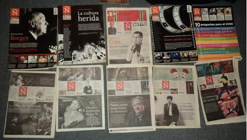 lotes x 5 revista ñ clarin 2006 2007 2009 2010  en belgrano