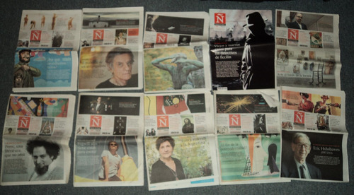 lotes x 5 unidades de revista ñ clarin 2013 /en belgrano