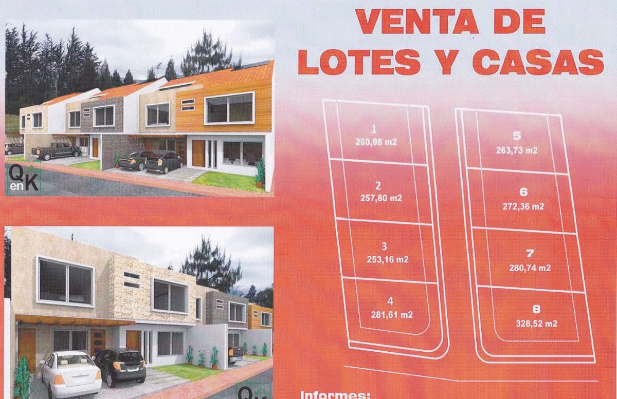 lotes y terrenos en venta junto a la hostería cuna del sol