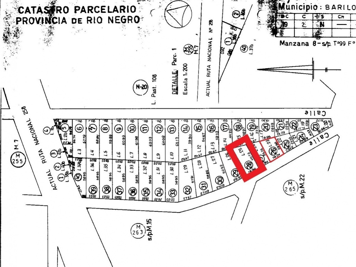 lote/terreno en venta - bariloche - reina mora