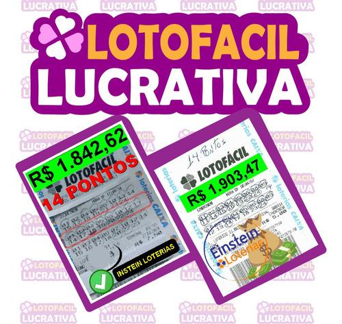 lotofacil lucrativa