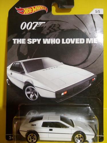 lotus esprit s1 hotwheels james bond 007 spy who loved me