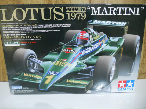 lotus type 79 1979 1/20 carlos reutemann tamiya ramos mejía