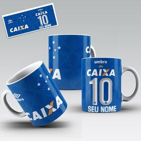 25be86844f1fb Caneca Porcelana Personalizada Time Cruzeiro