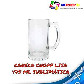 2edc5d44a Caneca De Chopp Vidro 475ml no Mercado Livre Brasil