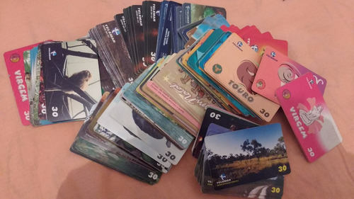 loucura 1000 cartões telefônicos da telemar todos diferentes