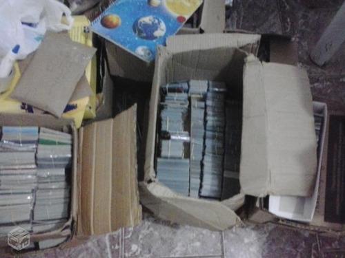 loucura 2000 cartões de variados.. aumente sua coleção agora
