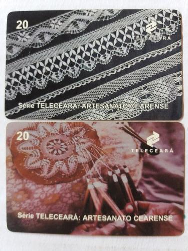 loucura série artesanato cearense (2 cartões) teleceará