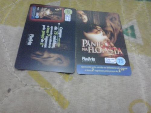 loucura série panico na floresta (2 cartões) telefonica
