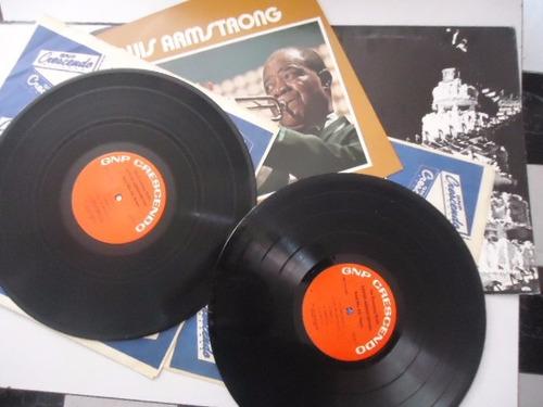 louis armstrong / at the pasadena vinyl lp acetato importado