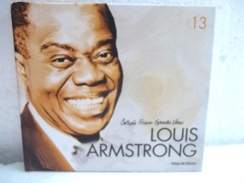 louis armstrong coleção folha grandes vozes cd frete 12,00
