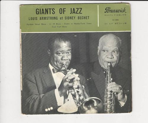 louis armstrong et sidney bechet - giants of jazz - ep 27