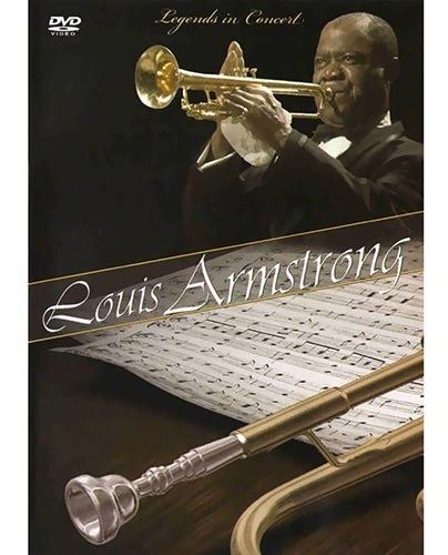 louis armstrong legends in concert dvd original novo lacrado