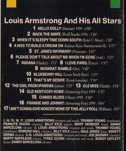 louis armstrong         top jazz                ( cassette )