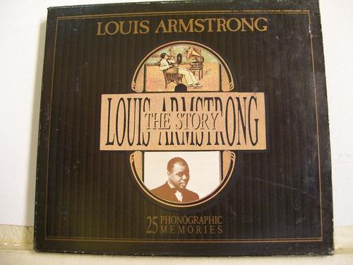 louis armstrong,the story cd imp itália 1989 original raro