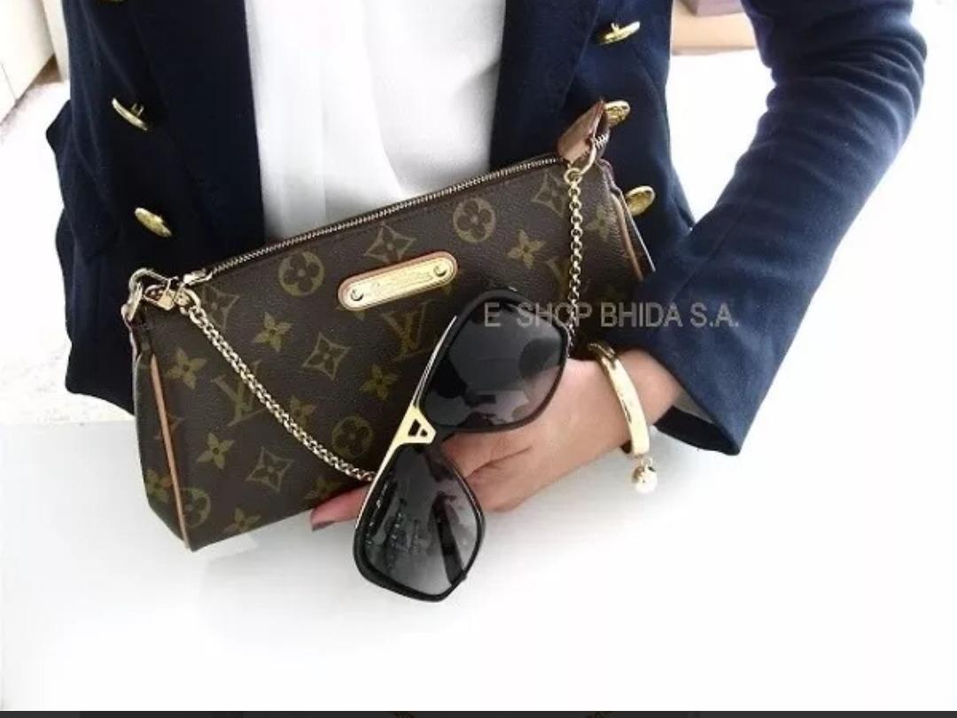 766e6e7b9 Louis Vuitton Bolsa Eva Clutch Porchette C/caja Oferta - $ 6,299.00 ...
