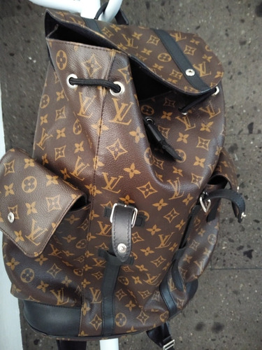 louis vuitton christopher pm monograma backpack