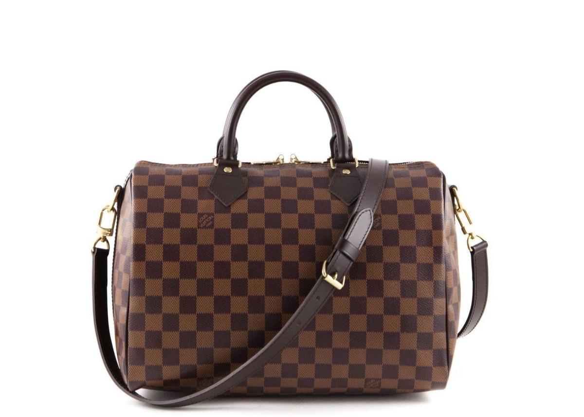 10d8c5921 Louis Vuitton Speedy 30 Couro Legitimo C/ Código Ebene - R$ 1.190,00 em  Mercado Livre