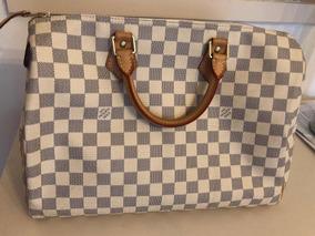4e6a387ee Riñonera Hombre Louis Vuitton - Carteras de Cuero Blanco, Usado en ...