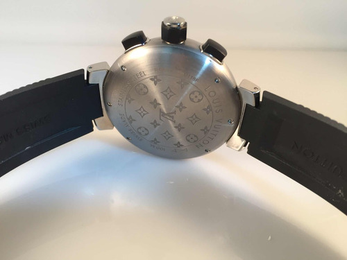 louis vuitton tambour quartz chronograph analog digital