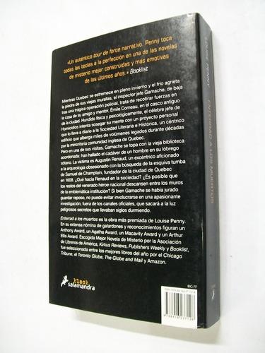 louise penny enterrad a los muertos - novela policial