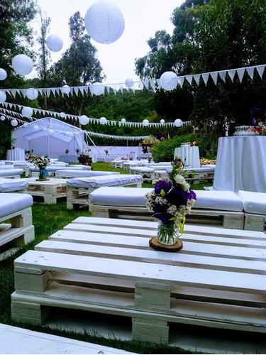 lounge eventos decoración
