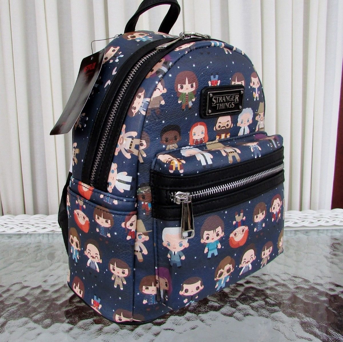 Loungefly Netflix Stranger Things Bolso Mini Backpack Chibi