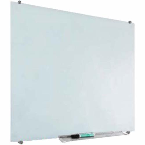 lousa de vidro magnetica profissional 45x60cm com acessorios