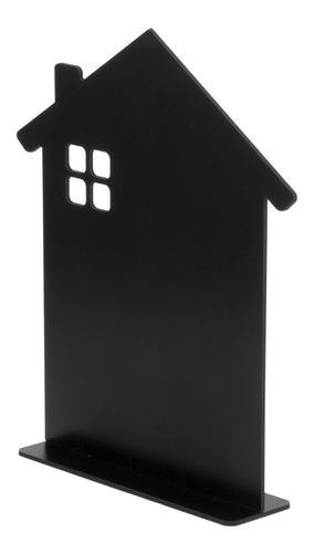 lousa memo blackboard c/suporte casinha 30cm