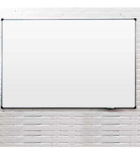 lousa quadro branco moldura de aluminio 70x50cm yupitoys
