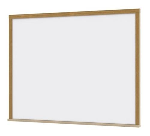 lousa quadro branco moldura de madeira 120x90cm gigante