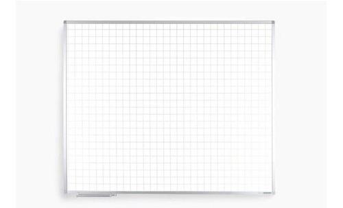 lousa quadro branco  quadriculado 300 x 120 + brindes