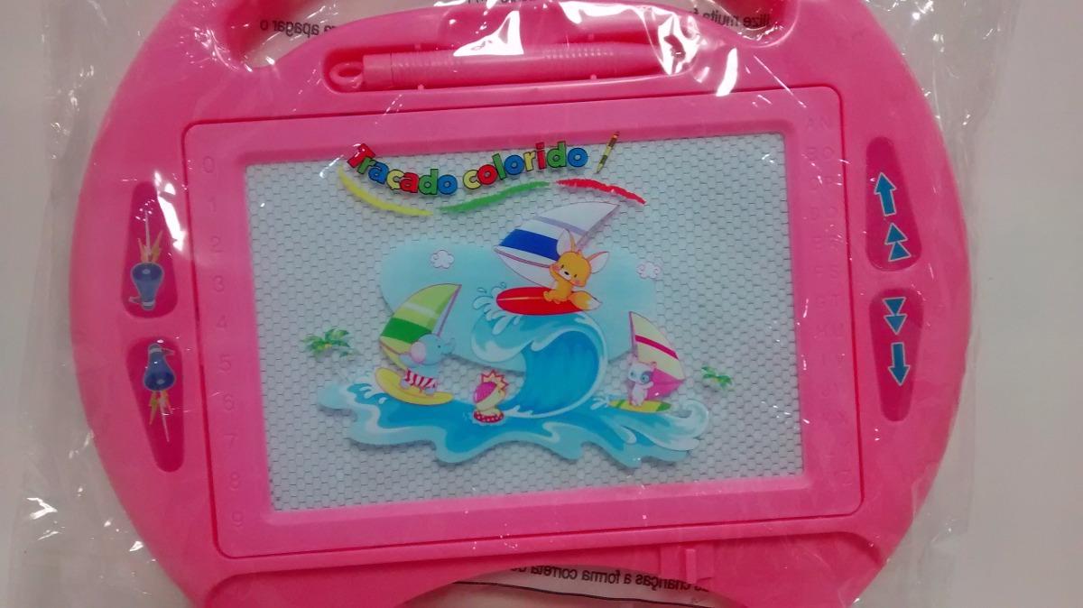 796e0894ec720 lousa quadro mágica infantil menino menina tamanho 20x13. Carregando zoom.