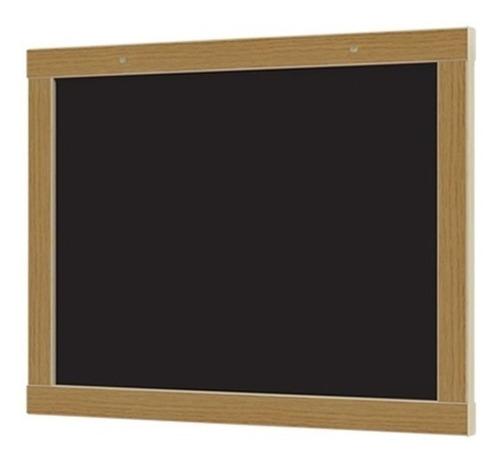 lousa quadro verde negro 30x40cm em madeira junges