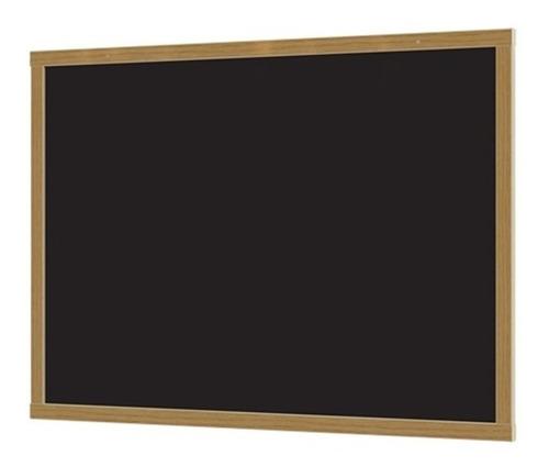 lousa quadro verde negro grande 60x90cm em madeira junges