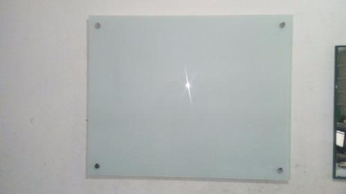 lousas de vidro temperado serigrafado branco 6mm 140x80 mm