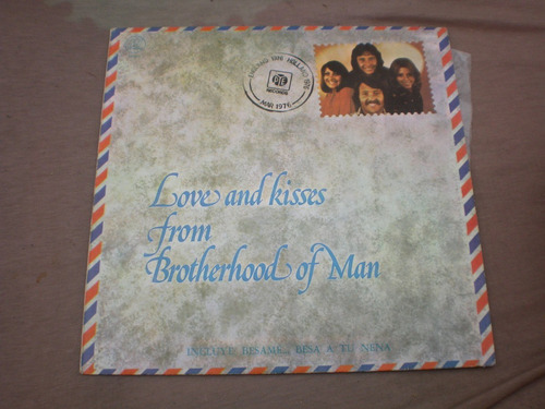 love and kisses from brotherhood of man vinilo disco l