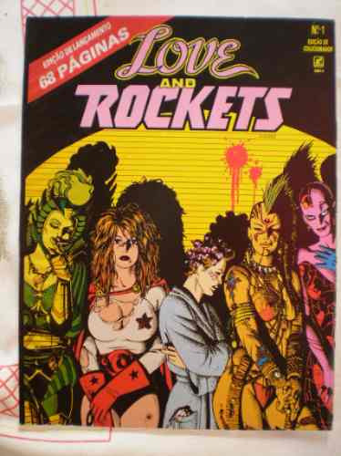 love and rockets  nº 01