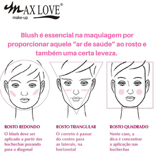 love maquiagem blush max