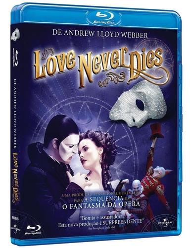 love never dies - blu-ray - ben lewis - anna o'byrne