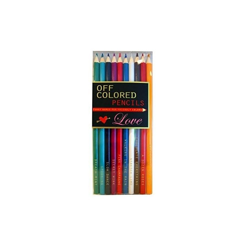 Love, Off Colored Pencils - Funky Names For Friendly Colors ...
