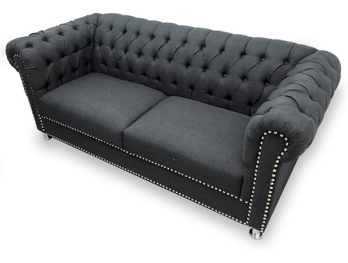 love seat capitonado vintage salas modernas minimalistas
