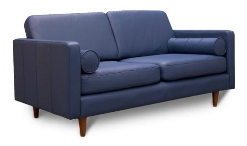 love seat piel genuina  - oslo - conforto muebles